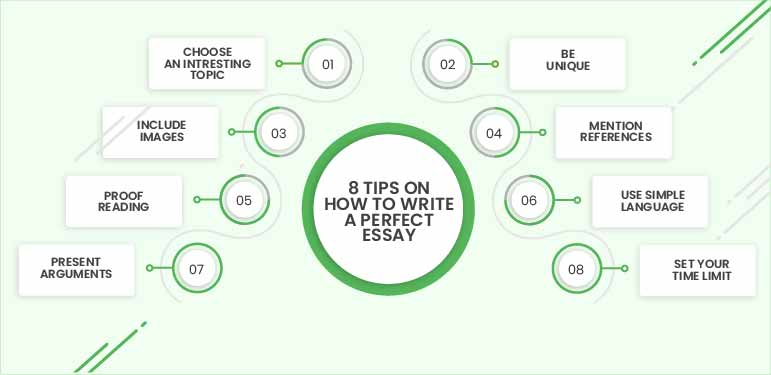 8 tips on how to write a perfect Essay