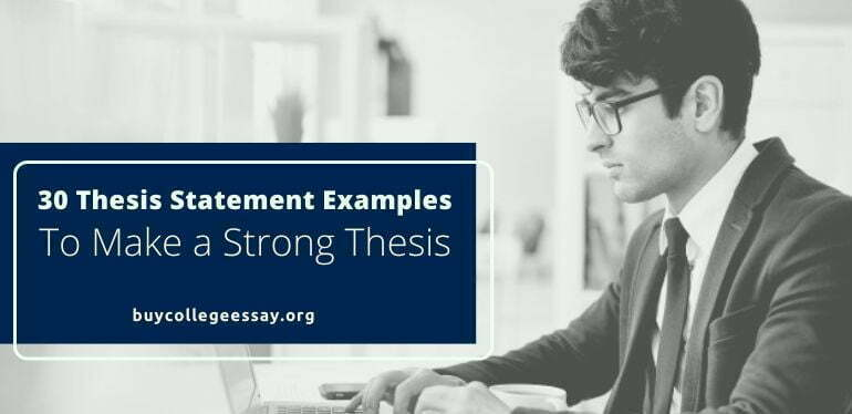 Thesis Writing Examples