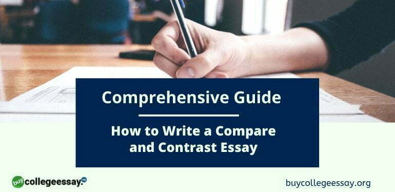 how to write a compare & contrast essay