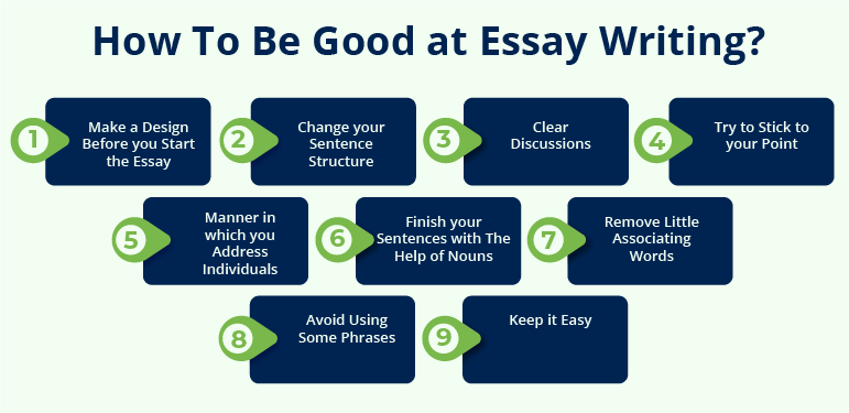 How to be good at essay writing