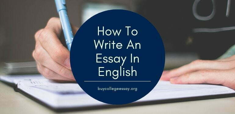 Where to buy english essays