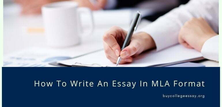 How to write an essay in MLA format