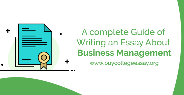 essay about business management