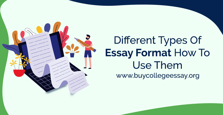 Different types of essay format