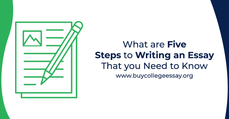 five steps to writing an essay
